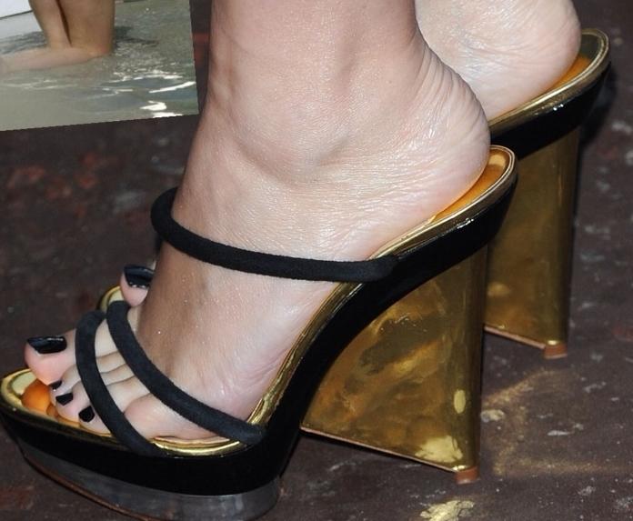 Cork Wedge Heels