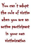 False victimization